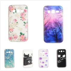 For Samsung Galaxy Core Prime SM G360 G361F G360H G360F G3606 G3608 Lemon Bike Guitar Tree Design Transparent Soft TPU CaseCover