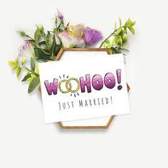"""Kartka ślubna """"WooHoo!"""" -   Sklep EMPIK.COM"""