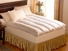 Pacific Coast ® Baffle Channel Euro Rest Feather Bed — Featured in Many Ritz-Carlton ® Hotels (Full 54″ x 75″) |