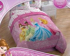 Disney Princess Sheet Set in Twin Size  Cinderella Tiana Sleeping Beauty  Belle -- Click image to review more details.