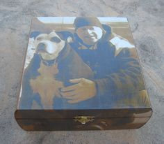 Personalized Pet Memorial Keepsake Box by DesignsByPictureThis