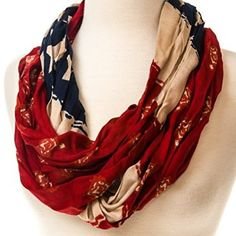 Americana Eternity Scarf http://shop.crackerbarrel.com/Americana-Eternity-Scarf/dp/B00UJV5ZH8