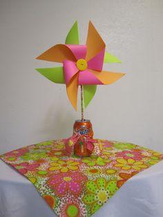 Wendys Hat: How to Make a Paper Pinwheel {Tutorial}