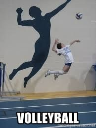 Its such a cool picture  #jump #volleyball For Awesome spiking drills check out http://greatvolleyballdrills.com/spiking/