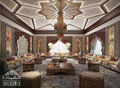 Moroccan Majlis Design - Men and Women Majlis Interior Design algedra.ae