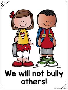 FREE No Bullying Poster Pack