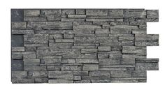 Texture Plus Panels - Stacked Stone Dry Stack Select - Light Gray - Interlock