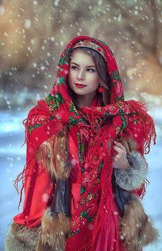 Pavlovsky Posad shawl, Russia