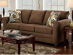 Brown Sofa Living Room Furniture Ideas Pictures