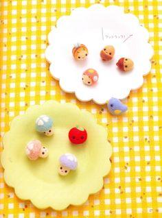 【Chiku Chiku】Master Collection Chiku Chiku 02 - Creative Small Felt Wool Doll - Japanese craft book