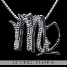 The Virgo/Scorpio Unity Pendant is a beautiful and meaningful way to share and express the love between a Virgo and a Scorpio. Unity Pendants are cast in Bronze with a thick Sterling Finish and come with a SIlver finished necklace. Also presented in a truly unique two metal (pure silver and antiq...