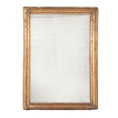 Neoclassical Giltwood Mirror Height 44 1/2 inches, width 35 inches.
