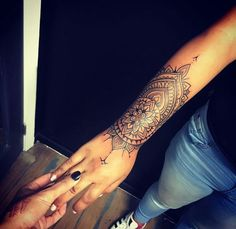 forearm tattoos toman tattoos toman sleeve shoulder tattoos toman tattoos toman classy back t Colorful Mandala Tattoo, Mandala Wrist Tattoo, Tattoo Henna, Forearm Tattoos, Body Art Tattoos, New Tattoos, Hand Tattoos, Sleeve Tattoos, Tattoo Arm