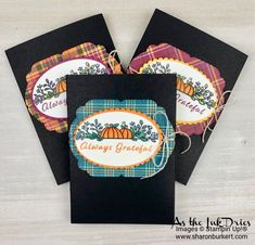 Halloween Cards, Fall Halloween, Fall Paper Crafts, Christmas Treat Bags, Dollar Tree Crafts, Stamping Up Cards, Fall Cards, Card Tags, Homemade Gifts