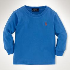 Cotton Long-Sleeved Tee - Baby Boy Tees & Sweatshirts - RalphLauren.com