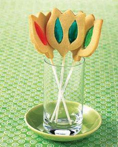 biscotti che sembrano di vetro - tutorial