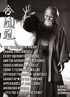 Aikido Martial Arts, Martial Arts Quotes, Dojo, Aikido Quotes, Wise Quotes, Inspirational Quotes, Aikido Techniques, Japanese Artwork, Artwork Design