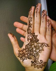 Traditional Mehndi Patterns
