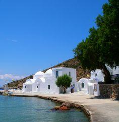 Vathy in Sifnos island