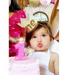 Primer cumpleaños corona  Corona de cumpleaños por LittleBlueOlive