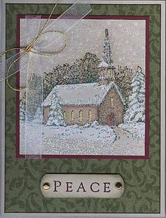 Peaceful Night by labullard - Cards and Paper Crafts at Splitcoaststampers