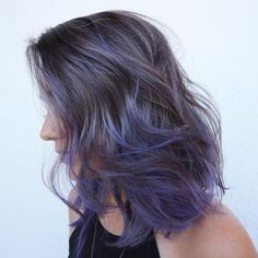 Blue-Violet Splash