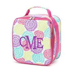 Monogrammed Flower lunch box for girls by PricelessKids on Etsy, $19.95