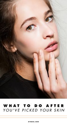 How to do damage control after picking at your skin too much
