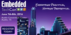 #Embedded TechCon coming to #Austin June 7th-8th.  Hands-on labs #IoT #FPGA and classes from industry leaders!  Register at: http://ift.tt/1DH7QTU