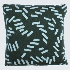 DASH CUSHION IN GREEN BY HELLO POLLY HOME
