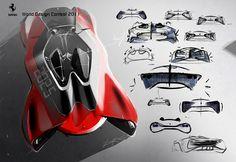 Winning work of Ferrari World Design Contest 2011_ Dre Ahn