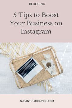 5 Tips to Boost Your Business on Instagram - Subscribe for Free Branding Review Guide!