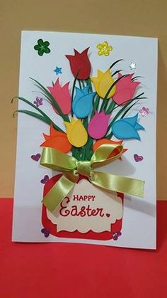 Easter card by SMSCreationsArt on Etsy