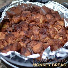 Dutch Oven Monkey Bread - 50 Campfires