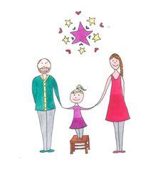 Illustratie: kerst 2014. Gemaakt door Jiska Clevering-Hartsuiker met fineliner en ecoline. Sterrig verzorgt illustratieworkshops.