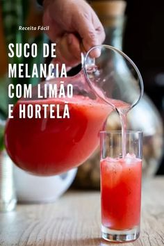 Summer Drinks, Fun Drinks, Alcoholic Drinks, Fruit Party, Portuguese Recipes, Brunch, Food And Drink, Low Carb, Tasty