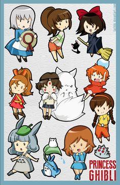 Ghibli Princess by tachiik