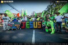JESÚS, Marcha para Jesús en Santa cruz Bolivia 2016