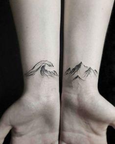 30 Epic Mountain Tattoo Ideas #girltattoos