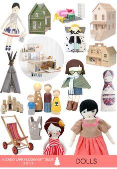 A Lovely Lark: Holiday Gift Guide 2013: Dolls