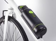 Gtech's ebike disguises battery as a water bottle and hides the motor