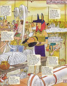 Horrible Histories Magazine # 3 : The Awesome Egyptians Mummy Mania Egyptian Crafts, Egyptian Mummies, Egyptian Art, Egyptian Costume, Ancient Egypt Lessons, Ancient Egypt For Kids, Israel History, Ancient World History, Egypt Games