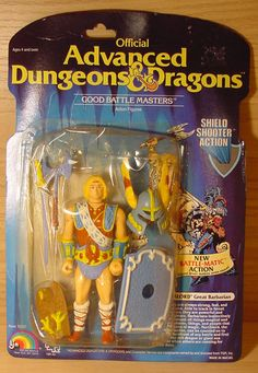 1980s Toys, Retro Toys, Vintage Toys, Retro Vintage, Dungeons And Dragons Figures, Advanced Dungeons And Dragons, Gi Joe, Barbarian, Classic Toys