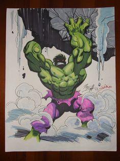The Ultimate Hulk Transformation Marvel Comics Superheroes, Hulk Marvel, Marvel Art, Epic Characters, Marvel Characters, Ultimate Hulk, Hulk Artwork, Cosmic Art, Graffiti Drawing