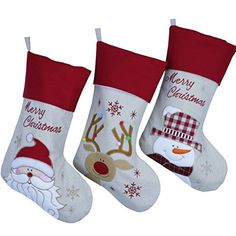 How to make Christmas Stockings. Use wool and this free tutorial to make your own Simple Christmas Stockings, Christmas Stocking Tutorial