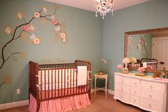 I saw this nursery on HGTV