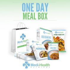 We have a deal for you. We have put together a 7 meal/snack/shake variety box of our different products. You will receive at least one bar, two snacks, one lunch, one dinner, one breakfast, and a shake. This allows you to take a full days food with you on the go in a simple portable box.  Shop here: http://medi-health.com/Shopping/weekly-bi-weekly-or-monthly-food-bundles/one-day-sampler-box-of-meals.html  ‪#‎HealthyDiet‬ ‪#‎HealthTips‬ ‪#‎DietTips‬ ‪#‎WeightLoss‬ ‪#‎DietProgram‬ ‪#‎LoseWe