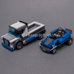 LEGO MOC 60244 Pickup and Buggy by Keep On Bricking | Rebrickable - Build with LEGO