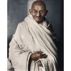 Mahatma Gandhi was born on october 2 1869. #gandhi #coloured #photo