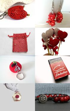 2121 - Lots of Red by Shelley on Etsy--Pinned with TreasuryPin.com